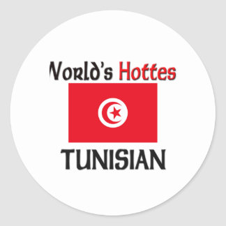 World's Hottest Tunisian Sticker