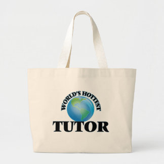 World's Hottest Tutor Tote Bags