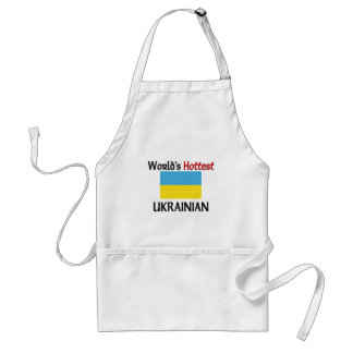 World's Hottest Ukrainian Standard Apron