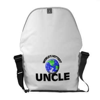 World's Hottest Uncle Courier Bags