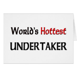 World's Hottest Undertaker Card