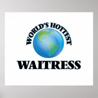 World's Hottest Waitress Poster