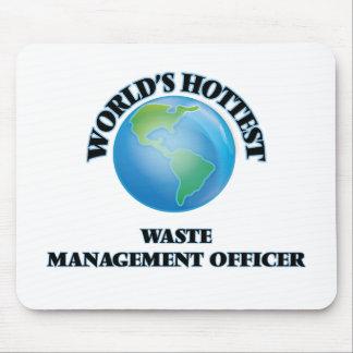 World's Hottest Waste Management Officer Mouse Pads