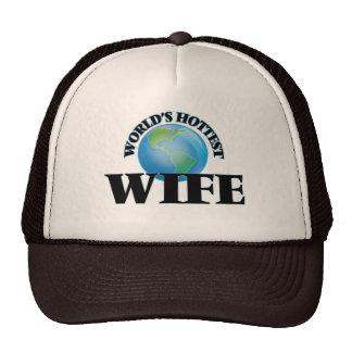 World's Hottest Wife Trucker Hats