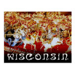 World's Largest Carousel, Wisconsin Post Card