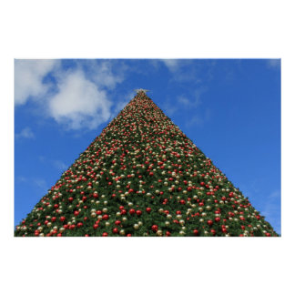 World's Largest Christmas Tree! Poster