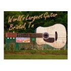 World's Largest Guitar - Bristol, TN Postcard