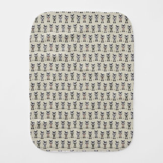 Worlds Largest Knitting Sheep Competition Burp Cloth