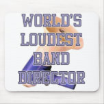 World's Loudest Band Director Mouse Mats