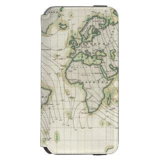 World's magnetic declination incipio watson™ iPhone 6 wallet case