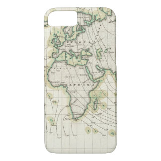 World's magnetic declination iPhone 8/7 case