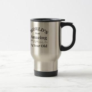World's most amazing 74 year old mugs