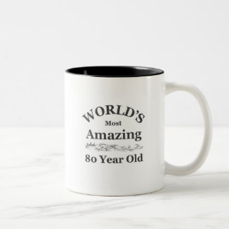 World's most amazing 80 year old Two-Tone mug