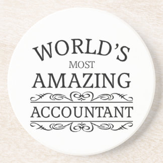 World's most amazing  Accountant Coaster