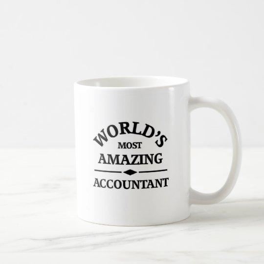 World's most amazing accountant coffee mug