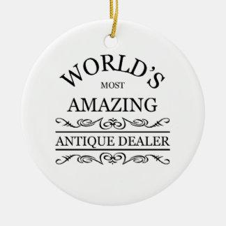 World's most amazing  Antique Dealer Ornament