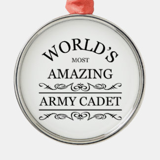 World's most amazing Army Cadet Christmas Ornament
