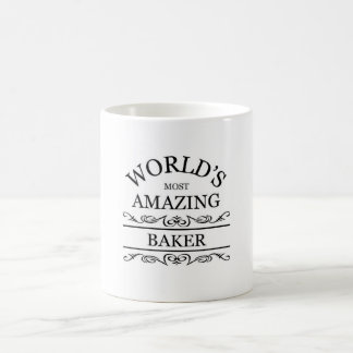 World's most amazing Baker Coffee Mug