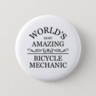 World's most amazing Bicycle Mechanic 6 Cm Round Badge
