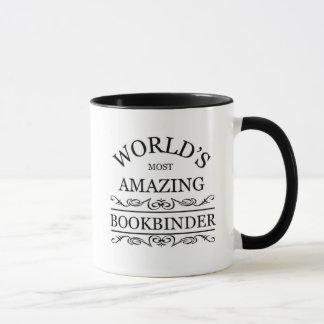 World's most amazing Bookbinder Mug