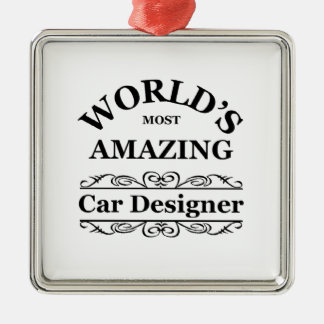 World's most amazing Car Designer Christmas Ornament