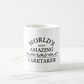 World's most amazing caretaker coffee mug