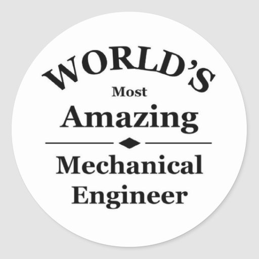 World's most amazing Chemical Engineer Stickers