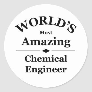 World's most amazing Chemical Engineer Sticker