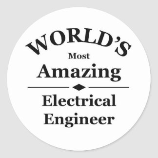 World's most amazing Electrical Engineer Stickers