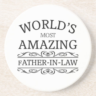 World's most amazing Father-in-law Coasters