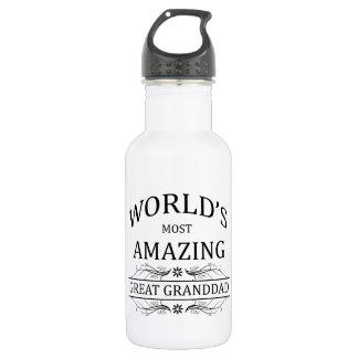 World's Most Amazing Great Granddad 532 Ml Water Bottle