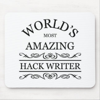 World's most amazing Hack Writer Mouse Pad