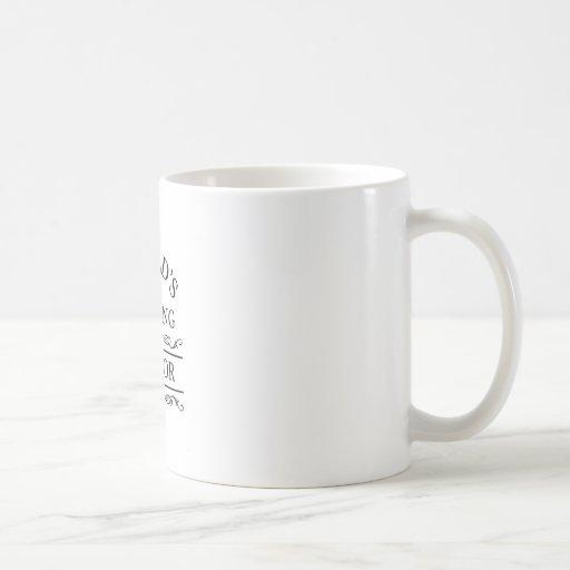 World's most amazing mentor mug