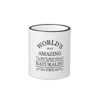 World's most amazing naturalist ringer mug