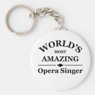 World's most amazing Opera Singer Key Ring