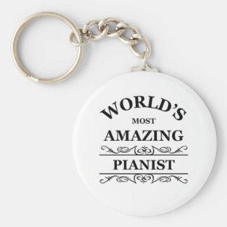 World's most amazing Pianist Key Chain