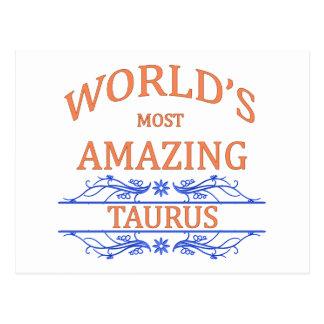 World's Most Amazing Taurus Postcard