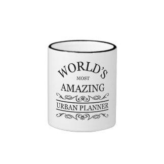World's most amazing Urban Planner Ringer Mug