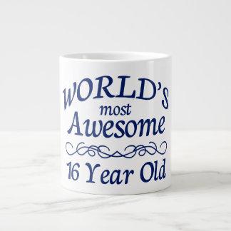 World's Most Awesome 16 Year Old Jumbo Mug