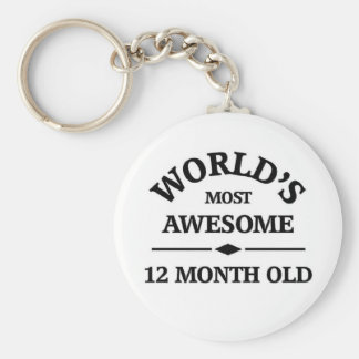 World's most awesome 1 year old key chain