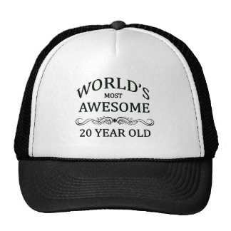 World's Most Awesome 20 Year Old Cap