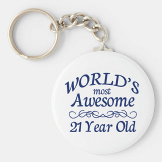 World's Most Awesome 21 Year Old Key Ring