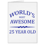 World's Most Awesome 25 Year Old Cards