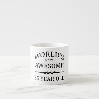 World's Most Awesome 25 Year Old Espresso Mug