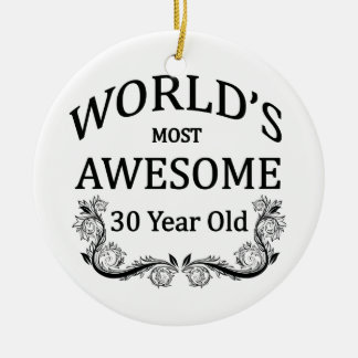 World's Most Awesome 30 Year Old Christmas Ornament