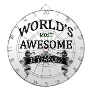 World's Most Awesome 30 Year Old Dartboard