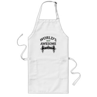 World's Most Awesome 30 Year Old Long Apron