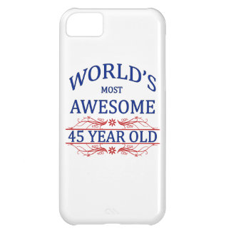 World's Most Awesome 45 Year Old iPhone 5C Case