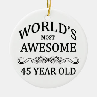 World's Most Awesome 45 Year Old Christmas Ornament
