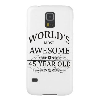 World's Most Awesome 45 Year Old Galaxy S5 Case